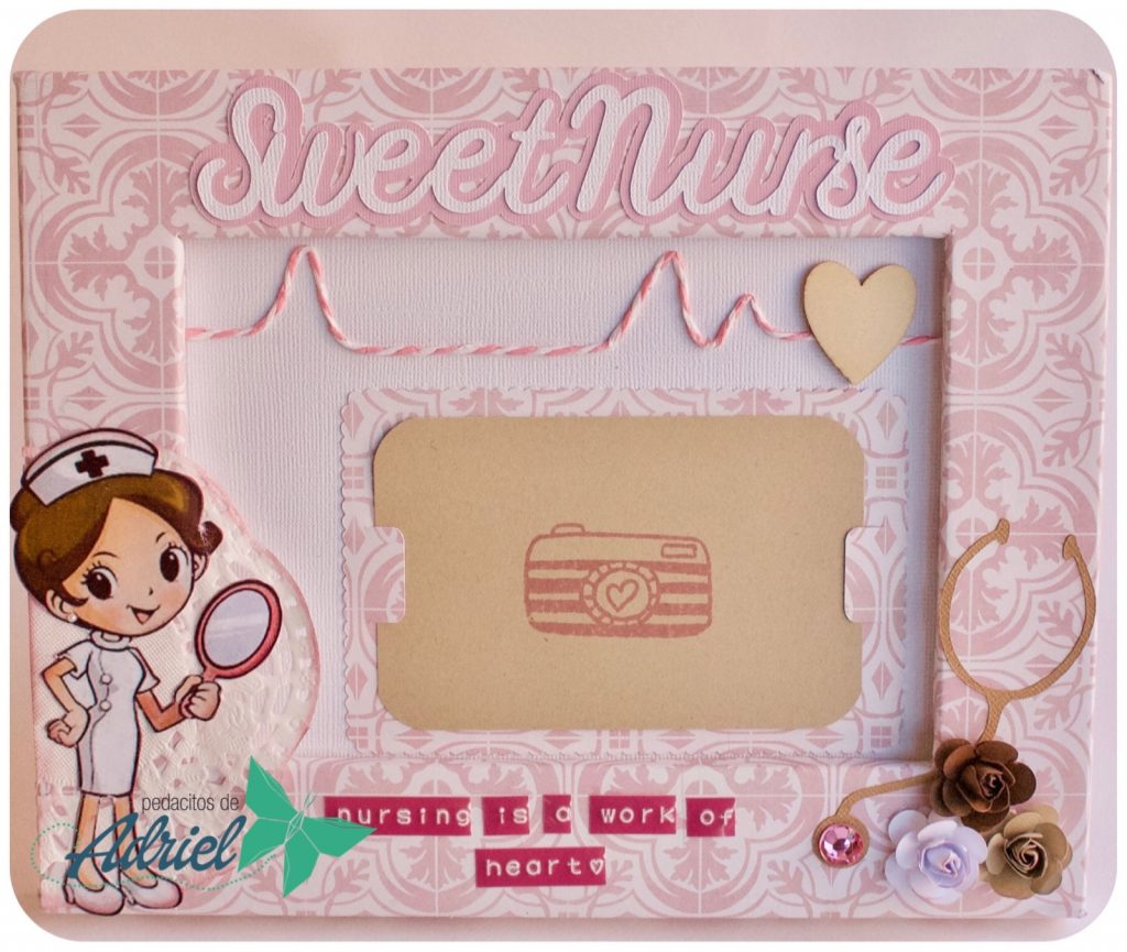 Marco decorado Sweet Nurse
