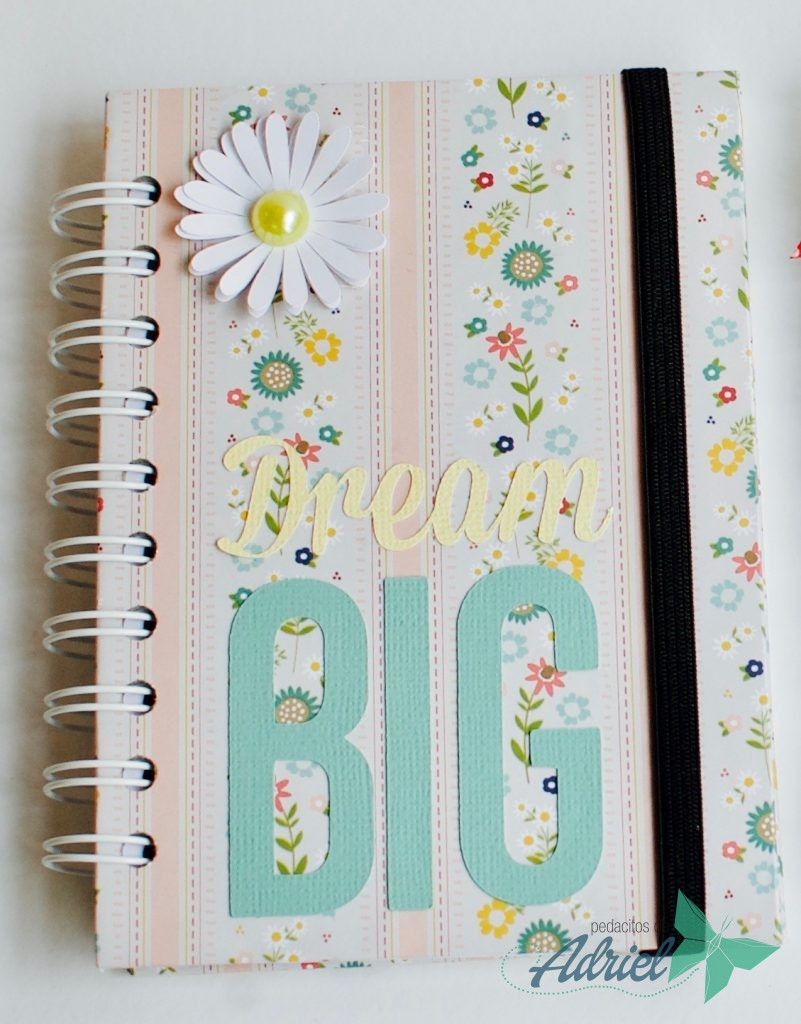 Libreta personalizada Dream Big